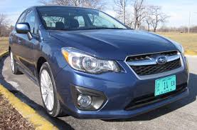 2012 subaru impreza 2 0i limited ride and review by larry nutson