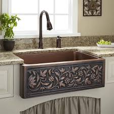 Bronze Kitchen Faucet Sinks Three Holes Bronze Kitchen Faucet On Granite Countertop For