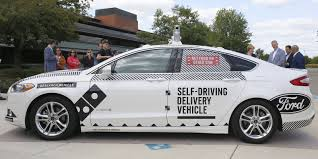 ford and dominos team up to test driverless pizza delivery