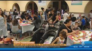 happy thanksgiving joe s serves meal to san diego s home