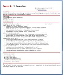 Sample Resume For Nanny Position nanny resume example stunning design ideas nanny resume template