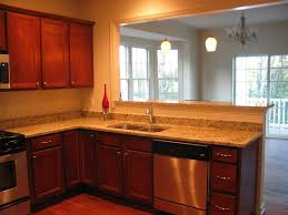 smart kitchen design for townhome remodel of late bloomington