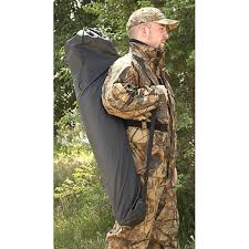 Pop Up Ground Blind Guide Gear Pop Up Ground Blind 217896 Ground Blinds At