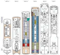 p u0026o cruises mv pacific aria deck plan u0026 accommodations
