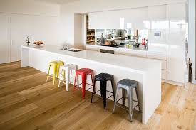 Modern Kitchen Cabinets With Brown Colors Plus Long Kitchen Island - Long kitchen cabinets
