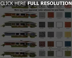 exterior home color schemes exterior idaes
