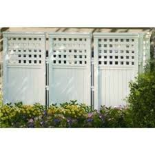 outdoor room dividers panel resin wicker outdoor screen privacy fencing white 8688