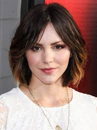 cute medium short hairstyles katharine mcphee hair medium