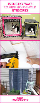 goodhousekeeping com how to hide household eyesores smart home decorating ideas