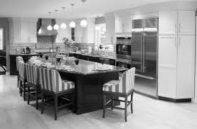 contemporary white kitchen design ideas with island free online