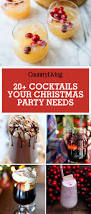 30 easy christmas cocktails best recipes for christmas alcoholic