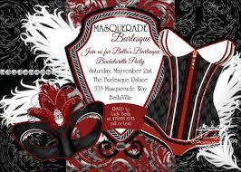 burlesque invitations printable invitation template design by