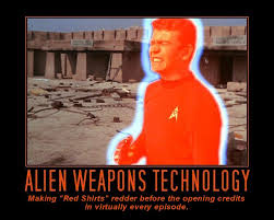 Red Shirt Star Trek Meme - star trek inspirational posters by gary