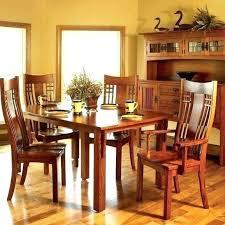 mission style dining room furniture mission dining room table 9 pieces oak mission style dining room set