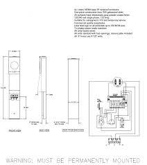 rv pedestal wiring diagrams park metering motorhome electrical