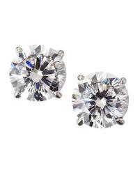 zirconia earrings cubic zirconia earrings neiman