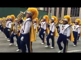 wvu marching band in macy s thanksgiving day parade