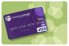 gift debit cards visa gift cards financial plus credit union