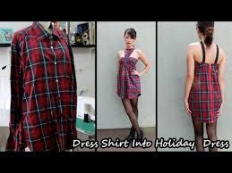 men u0027s dress shirt into dress part 1 youtube