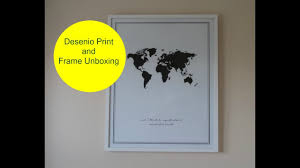 A Home Decor by Desenio Review And Unboxing A Home Decor Haul Ad Youtube