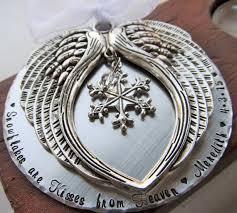 memorial ornament snowflake ornament personalized ornament