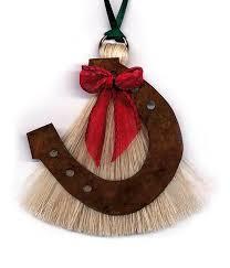 horseshoe christmas ornaments cowboy collectibles hair horseshoe christmas