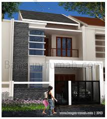desain rumah lebar 6 meter desain rumah 2 lantai di lahan 7 5 m x 23 m desain rumah online