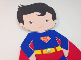 superboy superhero craft kit for kids birthday party favor