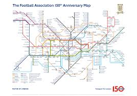 London Subway Map by Fa Launches Football Inspired London Underground Tube Map Metro News