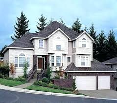 sloped lot house plans house plans on a hillside listcleanupt com