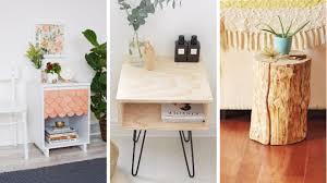 bedroom nightstand ideas 17 brilliant diy nightstand ideas for your bedroom woot home
