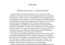 themes of youth in romeo and juliet 147 romeo and juliet 148 youth and age gcse english marked