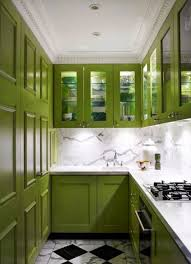 kitchen green kitchens design ideas with recessed lighting and