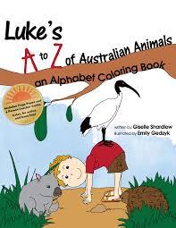 luke u0027s australian animals coloring book english kids