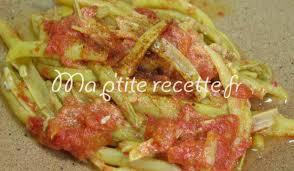 cuisiner haricots beurre haricots beurre à la tomate recette accompagnement haricot vert