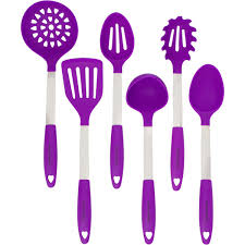 Purple Kitchen Amazon Com Culinary Couture Stainless Steel And Silicone Cooking