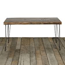 Contemporary Rustic Wood Furniture Brooklyn Modern Rustic Reclaimed Wood Dining Table Modern