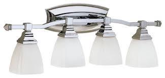 Chrome Bathroom Lighting Fixtures Home Interior Design Ideas - Polished chrome bathroom lighting