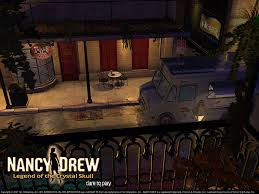 spooky screensaver nancy drew games legend of the crystal skull her interactive