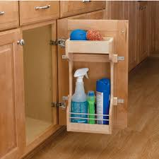 the kitchen sink cabinet organization rev a shelf sink base door storage organizer kitchensource