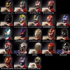 Wwe Sin Halloween Costume Mask Rey Mysterio Mistico Sin Kalisto Dos Caras Pentagon Myzteziz