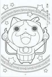 watch yo jibanyan kai coloring pages coloring page pinterest