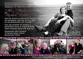 Wedding Invitations Utah Kara U0027s Koncepts Graphic Design Custom Wedding Invitations
