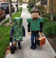 minecraft costumes 50 cool character costume ideas hative