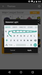 android swype keyboard swype version 1 8 introduces three new themes a floating keyboard