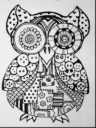 brilliant owl coloring page with owl coloring pages for adults