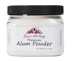buy alum hoosier hill farm alum granulated pickle powder 1 pound buy