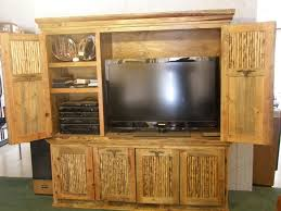 radiant small rustic entertainment with wooden rustic