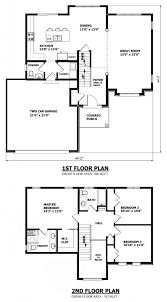 modern house plans double story