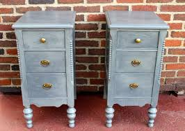 side tables night stands made from vintage vanity by repurposed